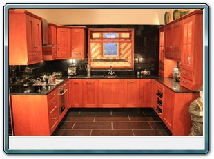 Varied Cherry Oak Kitchens